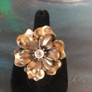 Jewelry - Bronze Flower Ring